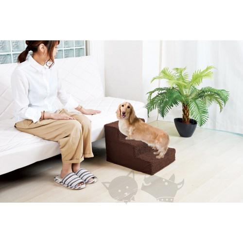 PetLand寵物樂園《日本MARUKAN》寵物專用三階樓梯 DP-965 /寵物傢俱/寵物生活用品