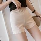 安全褲 安全褲女防走光三分褲打底褲薄款短褲蕾絲花邊夏天可內外穿保險褲