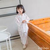 兒童和服夏天1-3歲薄款夏季女童家居服卡通日式公主   XY3477 【KIKIKOKO】