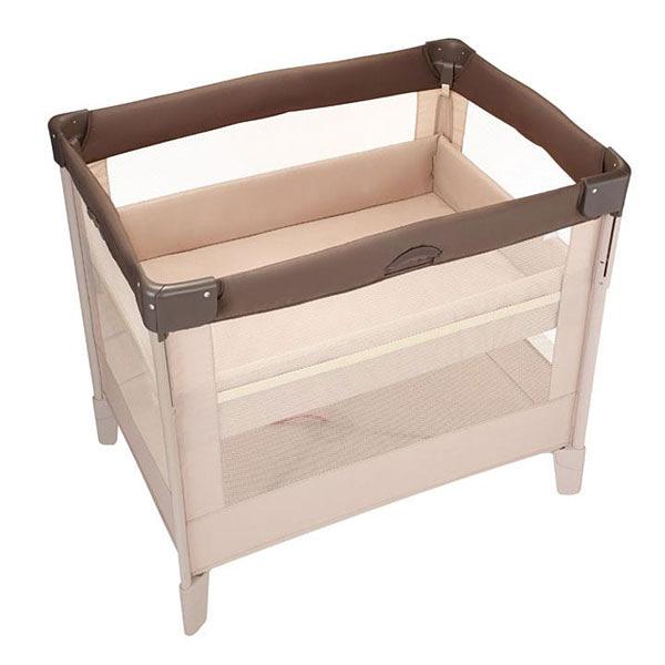 Aprica COCONEL Air 任意床/嬰兒床/遊戲床 拿鐵棕
