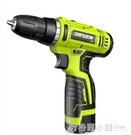 電鑽 芝浦鋰電鑽12V充電式手鑽小手槍鑽...