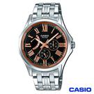 CASIO卡西歐 賽車儀表板設計帥氣風格石英腕錶 MTP-E311DY-1A