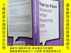 二手書博民逛書店How罕見to Pass Advanced Verbal Rea