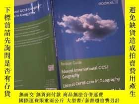 二手書博民逛書店Revision罕見Guide Edexcel international GCSE GeographyY20