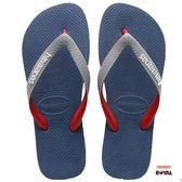 Havaianas 哈瓦士 新竹皇家 H.TOP MIX 深藍/灰 夾腳鞋 男款 NO.H2206