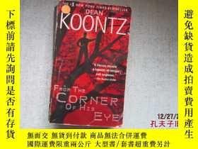 二手書博民逛書店英文原版書罕見DEAN KOONTZ FROM THE CORN