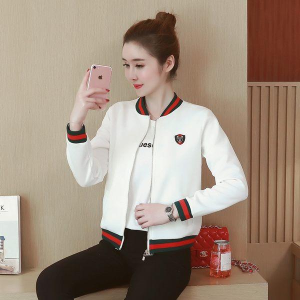 韓國風棒球服夾克外套