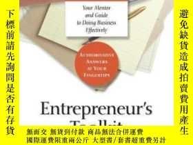 二手書博民逛書店Entrepreneur s罕見ToolkitY255562 Harvard Business School