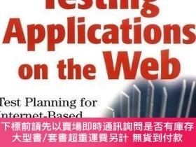 二手書博民逛書店Testing罕見Applications On The WebY256260 Hung Q. Nguyen