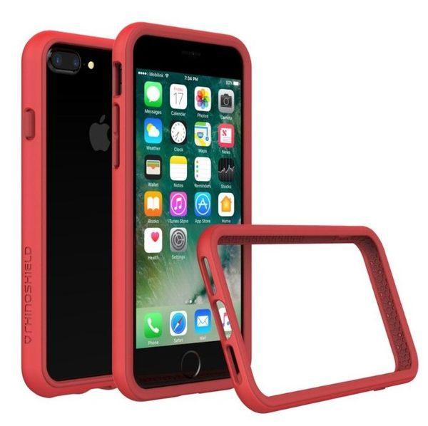 """【台中平價鋪】全新 犀牛盾CrashGuard防摔邊框 - iPhone 7 Plus 5.5"""" (Red 紅)"""