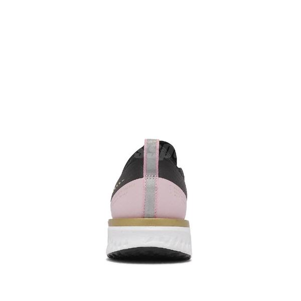 【海外限定】Nike 慢跑鞋 Odyssey React 2 Shield 黑金 防水 女鞋 反光 【ACS】 CU3000-071