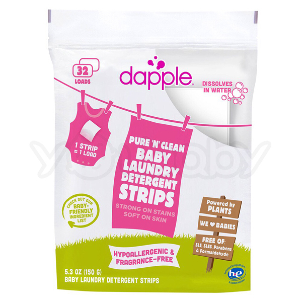 Dapple 洗衣片(無香精32片) /可攜帶型固態洗衣紙