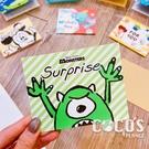 正版授權 迪士尼立體卡片 怪獸大學 大眼仔 小卡片 生日卡片 萬用卡片 卡片 COCOS DA030