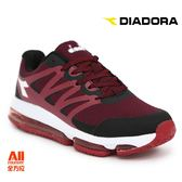 【Diadora 迪亞多那】男款 休閒運動鞋 2E 寬楦-紅色(D6632)全方位跑步概念館