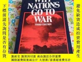 二手書博民逛書店WHY罕見NATIONS GO TO WARY185543 TH
