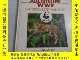 二手書博民逛書店Abenteuer罕見WWF. Naturschutz welt