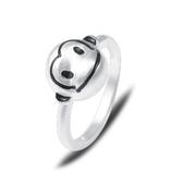 戒指 925純銀-猴子造型生日情人節禮物女飾品73dx109【時尚巴黎】