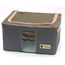 [AWANA]簡約摺疊衣物收納箱11公升(黛藍) (1入)