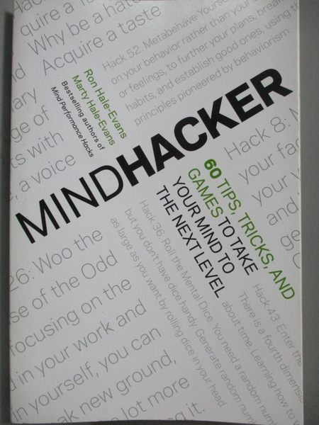 【書寶二手書T9/心理_ZDK】Mindhacker-60 Tips, Tricks, and Games to Tak