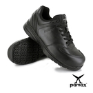 PAMAX 帕瑪斯【運動休閒風】頂級氣墊皮革製止滑安全鞋、後腳跟加強防護-PS37101FEH-男女尺寸4-12