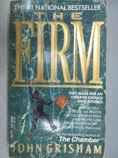 【書寶二手書T5/原文小說_MOP】The Firm_John Grisham