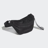 ADIDAS 運動腰包 R.Y.V. 黑白 愛迪達標 尼龍布 腰包 (布魯克林) FL9673