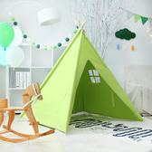 雙11鉅惠 印第安兒童帳篷公主玩具屋小孩游戲房幼兒園閱讀區落地帳篷讀書角