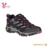 MERRELL登山鞋 男 低筒 GTX防水速乾 避震黃金大底 戶外登山運動鞋 ML49005 H8374#黑紅◆OSOME奧森鞋業