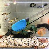 魚缸換水器電動吸便水族箱自動加水洗沙吸魚糞清理魚便吸污抽水泵 igo免運