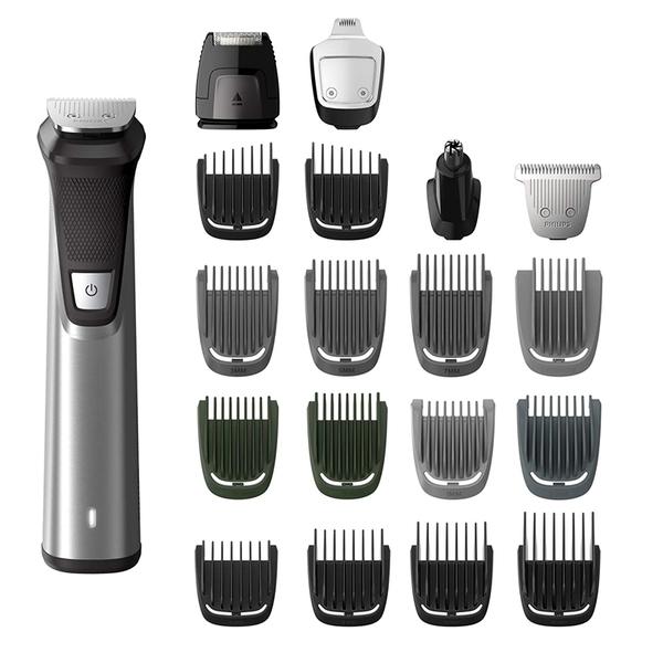 [9美國直購] Philips 刮鬍刀組 Norelco MG7750/49 Multigroom Series 7000, Men s Grooming Kit with Trimmer for Beard