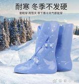 高筒鞋套防水雨天男女防雨下雨加厚防滑耐磨底兒童學生矽膠雨鞋套 優家小鋪