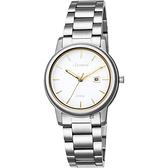 LICORNE力抗 entrée 品味生活時尚手錶-白x金時標/32mm LT120LWWI-K