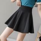 百褶裙 2021年夏季新款松緊腰半身裙高腰顯瘦短裙a字百褶蓬蓬裙半裙女裝 夢藝家