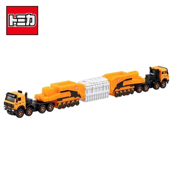 【日本正版】TOMICA NO.127 賓士 4850 240型 壓路機 工程車 玩具車 長盒 多美小汽車 - 981770