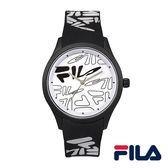 【FILA 斐樂】/LOGO造型手錶(男錶 手錶 Watch)/38-129-205/台灣總代理原廠公司貨兩年保固