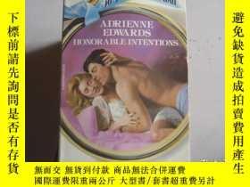 二手書博民逛書店ADRIENNE罕見EDWARDS HONORABLE INTENTONSY9890 出版1984
