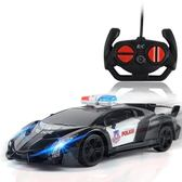汽車模型 警車電動搖控高速賽車漂移遙控小汽車大玩具男孩充電兒童跑車模型