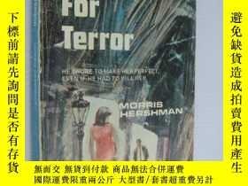 二手書博民逛書店Target罕見for Terror (恐怖小說,1967年以色