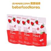 【南紡購物中心】韓國 bebefood寶寶福德 草莓優格豆逗餅4入組