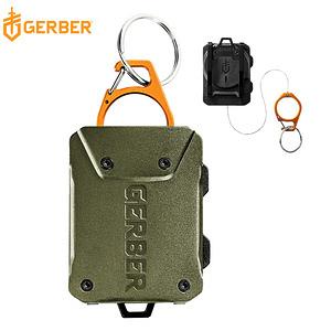 【Gerber】Defender 釣魚守衛 雙用伸縮鋼纜工具扣(軍綠)
