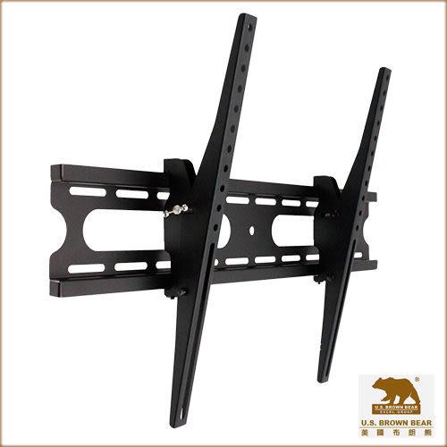 美國布朗熊 W4-63T 調整傾斜式-適用37吋~65吋電視壁掛架