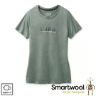 【SmartWool 美國 女 Merino Sport 150 好友時光T恤《鼠尾草綠》】SW000722/排汗衣/ 機能衣