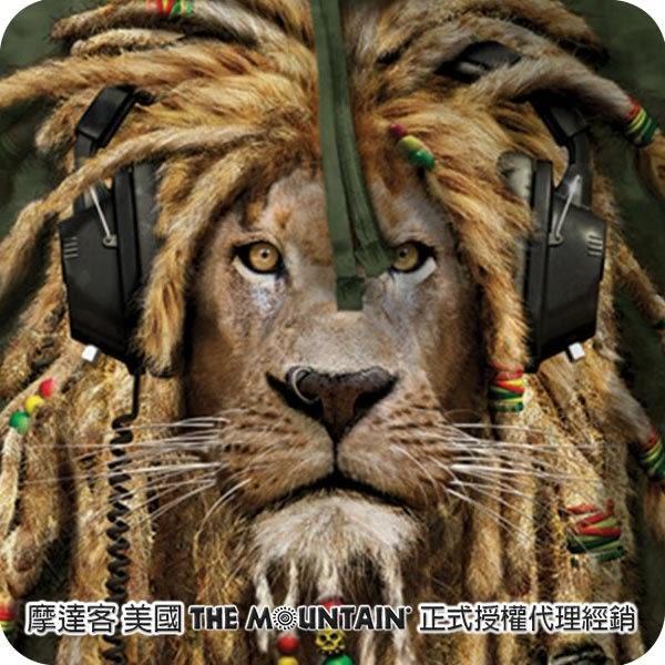 『摩達客』 (預購) 美國進口【The Mountain】DJ加滿獅 長袖連帽T恤(10514045018)