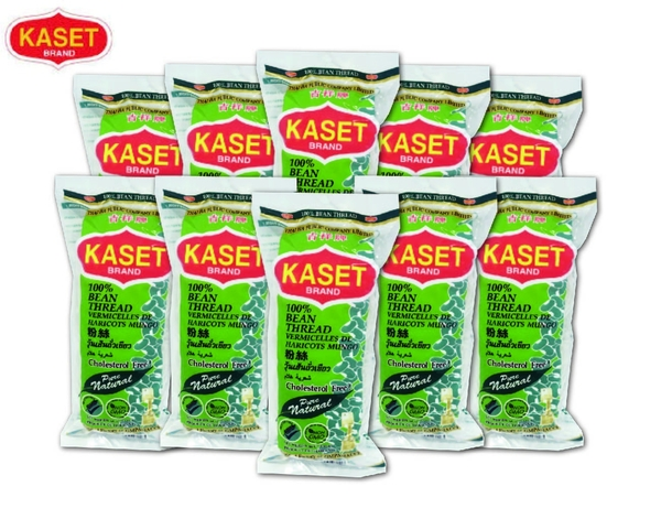 【KASET泰國進口】100%純綠豆冬粉 400g