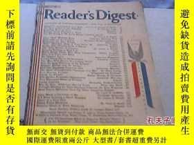 二手書博民逛書店罕見民國舊書...1945年...Readers..Digest