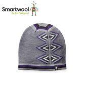 【美國 SmartWool 女款雙面緹花小圓帽《 炭灰》】SW010456/保暖針織帽/毛線帽/羊毛帽