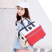 旅行袋 可套拉桿手提旅行包女大容量行李包輕便網紅韓版短途旅游包旅行袋T