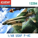 Academy 愛的美 1/48模型 幽靈II戰鬥機 美國 F-4C 戰鬥機 越南戰爭 12294