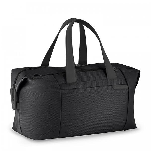 【終身保固 Briggs & Riley 256-4 Baseline系列】手提/肩背兩用行李袋(黑)