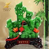 財富節節高電視櫃客廳家居擺件裝飾竹子工藝品招財開業禮品 韓慕精品 YTL